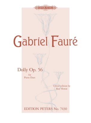 Gabriel Fauré - Dolly Opus 56. 4 hands - Sheet Music - di-arezzo.co.uk