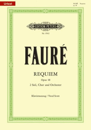 Gabriel Fauré - Requiem - Opus 48 - Sheet Music - di-arezzo.co.uk