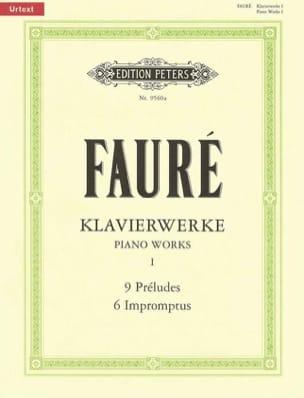 Gabriel Fauré - Klavierwerke Volume 1: Préludes, impromptus - Partition - di-arezzo.fr