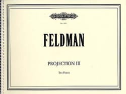 Projection 3 - Morton Feldman - Partition - Piano - laflutedepan.com