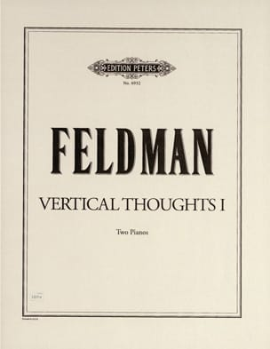 Vertical Thoughts 1 Morton Feldman Partition Piano - laflutedepan