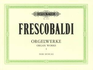 Orgelwerke Bd. I - Girolamo Frescobaldi - Partition - laflutedepan.com
