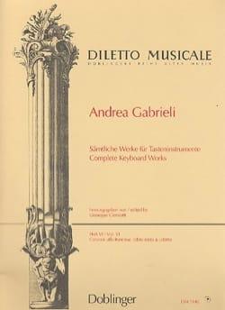 Sämtliche Orgelwerke Volume 6 - Andrea Gabrieli - laflutedepan.com
