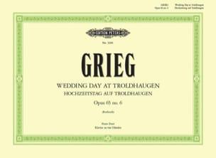 Edward Grieg - Hochzeitstag Auf Troldhaugen - Sheet Music - di-arezzo.co.uk