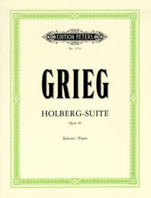 Holberg-Suite Opus 40 GRIEG Partition Piano - laflutedepan