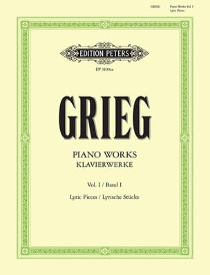 Edward Grieg - Work For Piano. Volume 1 - Sheet Music - di-arezzo.com