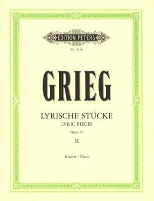 Edward Grieg - Lyrische Stücke 2 Opus 38 - Partition - di-arezzo.fr