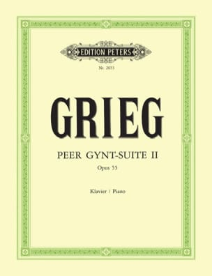 Edward Grieg - Peer Gynt Suite N ° 2 Opus 55 - Sheet Music - di-arezzo.co.uk