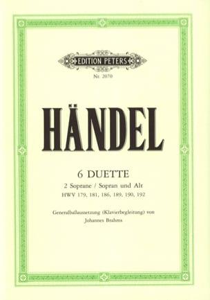 HAENDEL - Kammerduette - Noten - di-arezzo.de