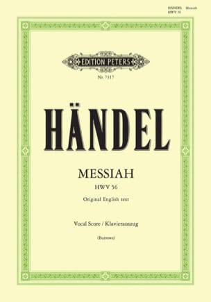 HAENDEL - Messiah HWV 56 - Partition - di-arezzo.fr