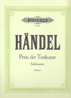 Preis der Tonkunst - HAENDEL - Partition - laflutedepan.com