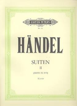 Suites Volume 2 - HAENDEL - Partition - Piano - laflutedepan.com