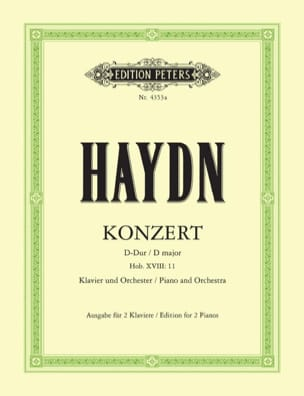 HAYDN - Concerto For Piano Hob 18-11 - Sheet Music - di-arezzo.com