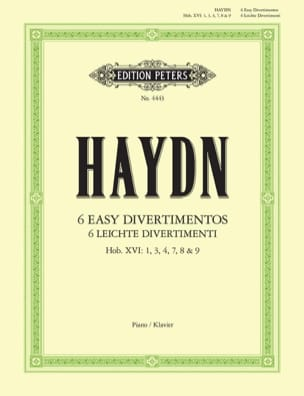 6 Leichte Divertimenti - HAYDN - Partition - Piano - laflutedepan.com
