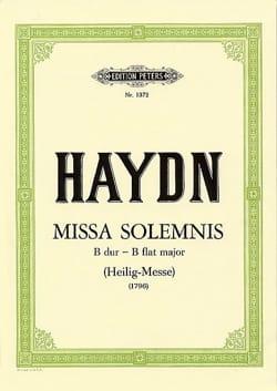 Missa Solemnis Sancti Bernardi - Hob 22-10 - HAYDN - laflutedepan.com