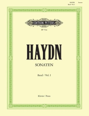 HAYDN - Sonatas Volume 1 - Sheet Music - di-arezzo.co.uk