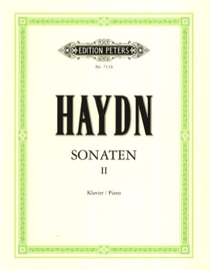 Sonates Volume 2 HAYDN Partition Piano - laflutedepan