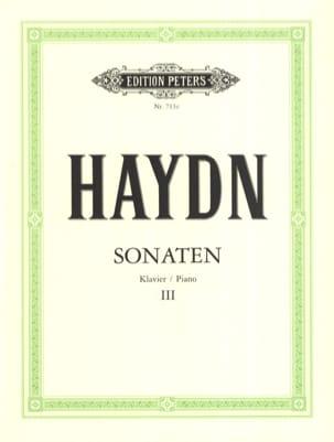 HAYDN - Sonates Volume 3 - Partition - di-arezzo.fr