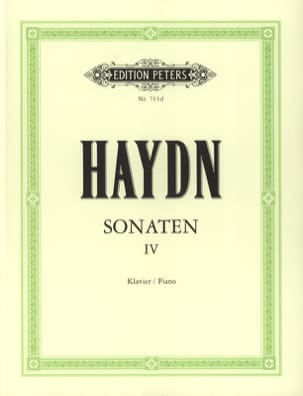 Sonates Volume 4 - HAYDN - Partition - Piano - laflutedepan.com