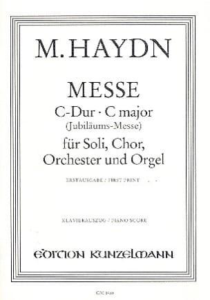 Messe en Do majeur - Michael Haydn - Partition - laflutedepan.com