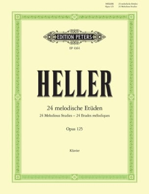Stephen Heller - 24 Melodische Etüden Opus 125 - Sheet Music - di-arezzo.co.uk