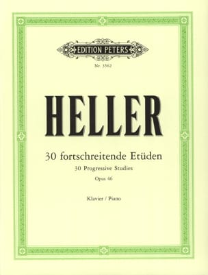 Etüden Opus 46 - Stephen Heller - Partition - Piano - laflutedepan.com