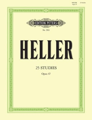 Stephen Heller - 25 Opus Studies 47 - Sheet Music - di-arezzo.com