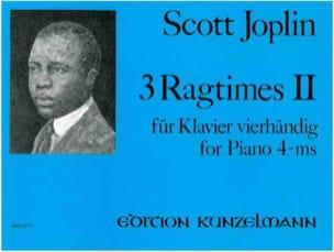 3 Ragtimes Volume 2. 4 Mains JOSPLIN Partition Piano - laflutedepan