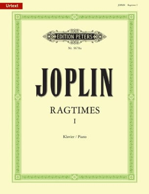 20 Ragtimes Volume 1 JOPLIN Partition Piano - laflutedepan