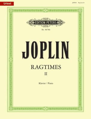 20 Ragtimes Volume 2 Scott Joplin Partition Piano - laflutedepan