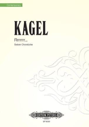 Mauricio Kagel - Rrrrrr - Partition - di-arezzo.fr
