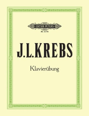 Klavierübung Johann Ludwig Krebs Partition Clavecin - laflutedepan