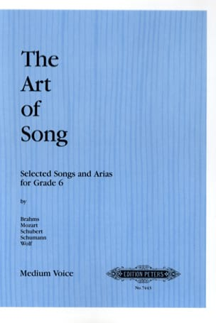 The Art of Song - Grade 6 . Medium - Partition - laflutedepan.com