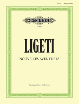 György Ligeti - Nouvelles Aventures - Partition - di-arezzo.fr