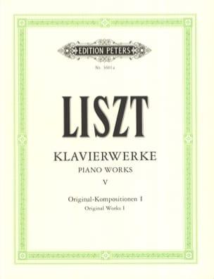 Franz Liszt - Originalkompositionen 1 - Partition - di-arezzo.fr