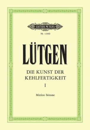 Lütgen - Die Kunst Der Kehlfertigkeit. Mean Voice - Sheet Music - di-arezzo.com