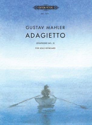 Adagietto de la 5ème Symphonie MAHLER Partition Piano - laflutedepan
