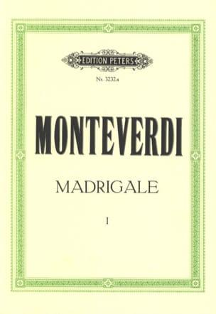 Madrigale. Volume 1 MONTEVERDI Partition Chœur - laflutedepan