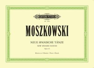 Moritz Moszkowski - 3 Nouvelles Danses Espagnoles Opus 65. 4 Mains - Partition - di-arezzo.fr