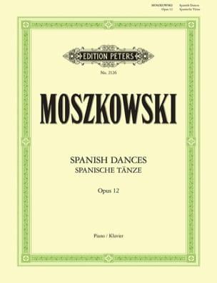 Spanisch Tänze Opus 12 Moritz Moszkowski Partition laflutedepan