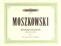 Danses Espagnoles Opus 12. 4 Mains Moritz Moszkowski laflutedepan