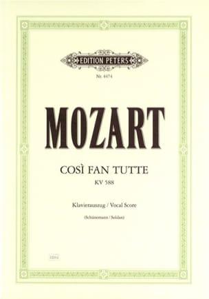 MOZART - Così Fan Tutte K 588 - Sheet Music - di-arezzo.com