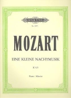 MOZART - Eine Kleine Nachtmusik K 525 - Partition - di-arezzo.fr