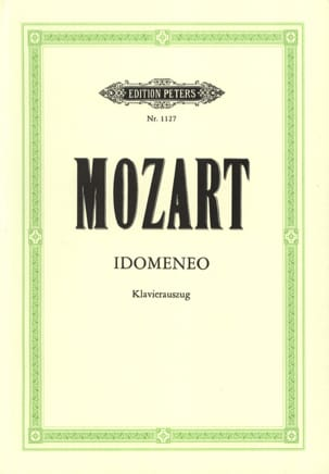 MOZART - Idomeneo K 366 - Sheet Music - di-arezzo.co.uk