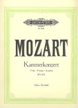 MOZART - Concerto Pour Piano N° 11 En Fa Majeur K 413 - Partition - di-arezzo.fr