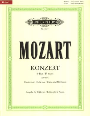 MOZART - Piano Concerto No. 27 In B Flat Major K 595 - Sheet Music - di-arezzo.co.uk