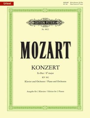 Concerto Pour Piano N° 22 En Mi Bémol Majeur K 482 - laflutedepan.com