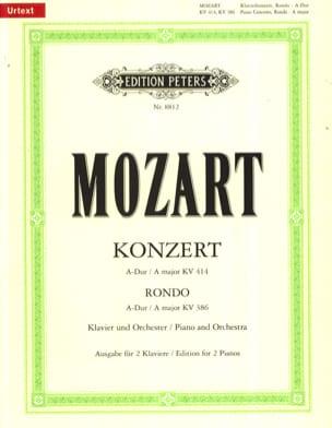 Concerto Pour Piano N° 12 En la Majeur K 414 et Rondo K 386 - laflutedepan.com