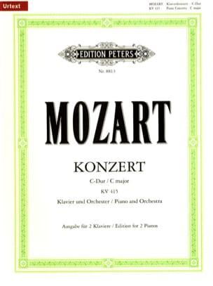 MOZART - Concerto Pour Piano N° 13 En Do Majeur Kv 415 (387b) - Partition - di-arezzo.fr