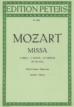 MOZART - Große Messe in C-Moll K 427 - Noten - di-arezzo.de
